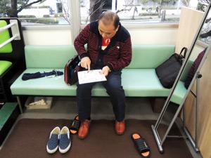 近藤光史さんが異邦人へご来店した時の写真