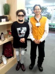 末成由美さんご来店時の写真