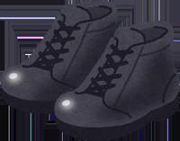 安全靴のイラスト