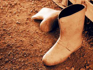 長靴に中敷きやインソールを入れると疲れない!?長靴を楽に履くためのポイント