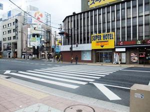 JR関西本線 奈良駅から異邦人 奈良三条通り店へのアクセス