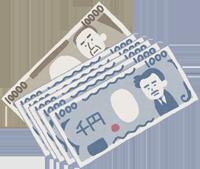 お金のイラスト(15,000円)