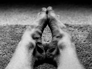 インソールを入れるとアーチの高い足でも安定感が増します!ハイアーチとインソールについて