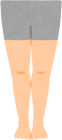 健康な足のイラスト