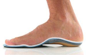 足にピッタリ合うインソールの写真