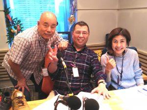 2019/10/24 桑原征平の「粋も甘いも」に異邦人 社長の南野が出演!
