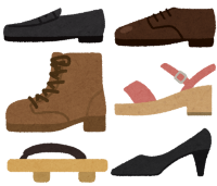 オススメしない靴のイラスト
