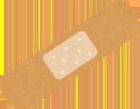 絆創膏のイラスト