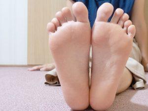 足の裏の写真
