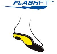 シダス フラッシュフィットインソールのロゴ
